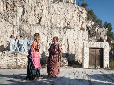Escenografía para Medea de Eurípides. Nuevo Trabajo