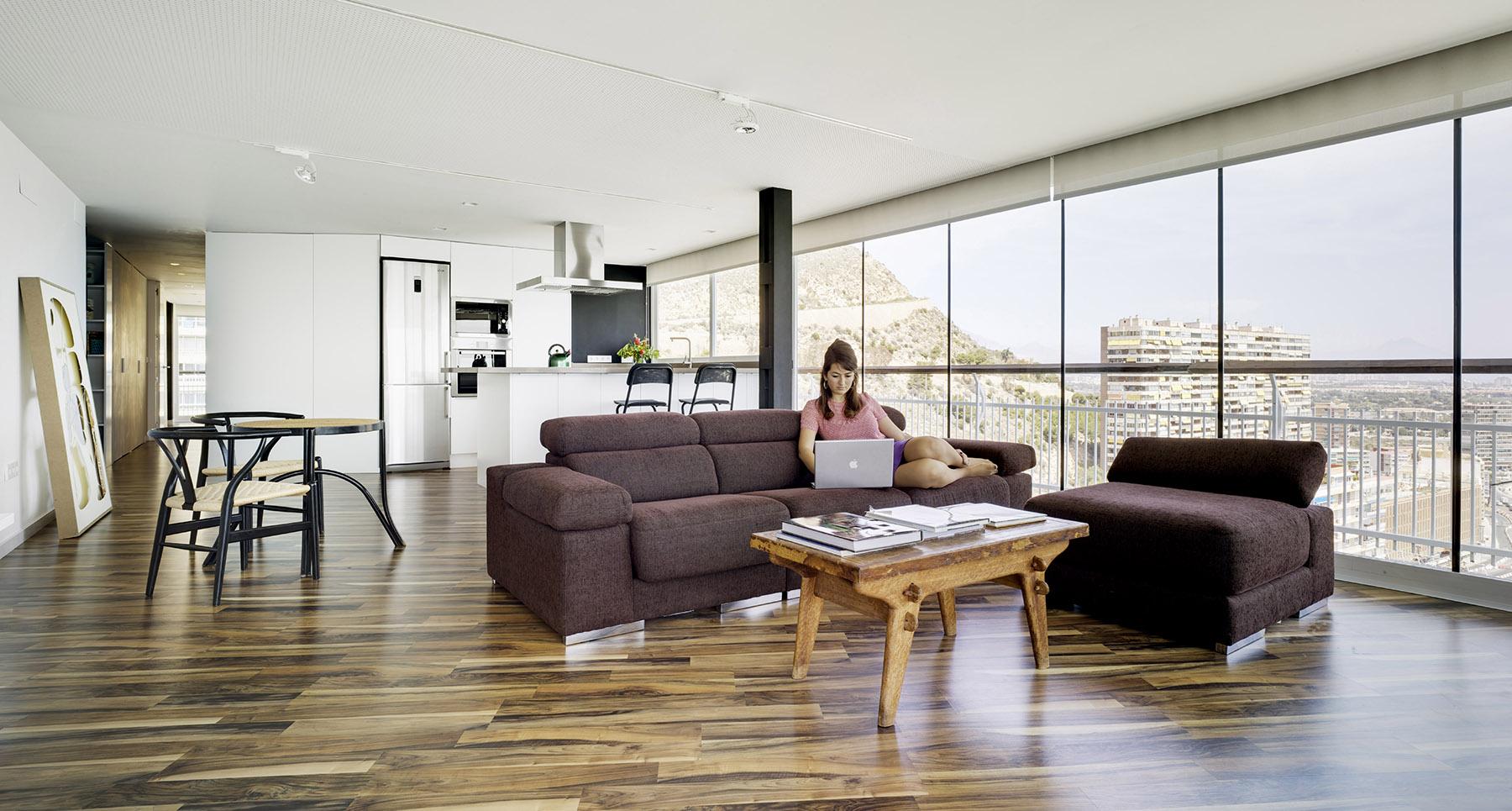 Tico lluna en alicante lluna penthouse in alicante cor - Arquitectos en alicante ...