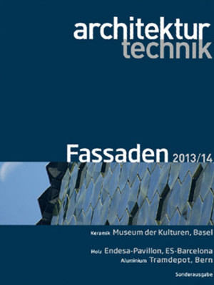 2014 . 03 <br>Architektur + Technik, Fassaden