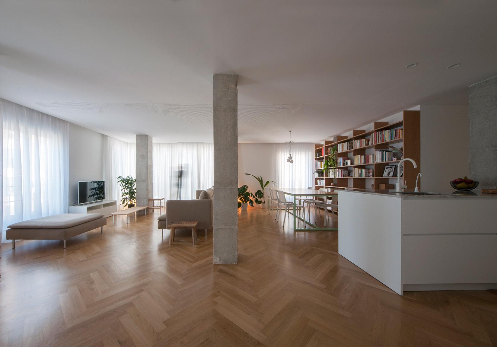 Reforma de un apartamento en elche apartment refurbishment in elche cor asociados arquitectos - Reformas de apartamentos ...