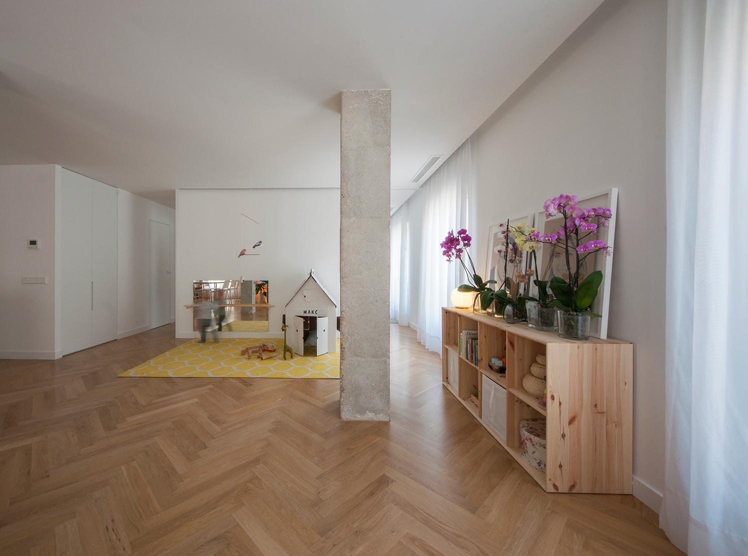 Reforma de un apartamento en elche apartment refurbishment - Arquitectos elche ...