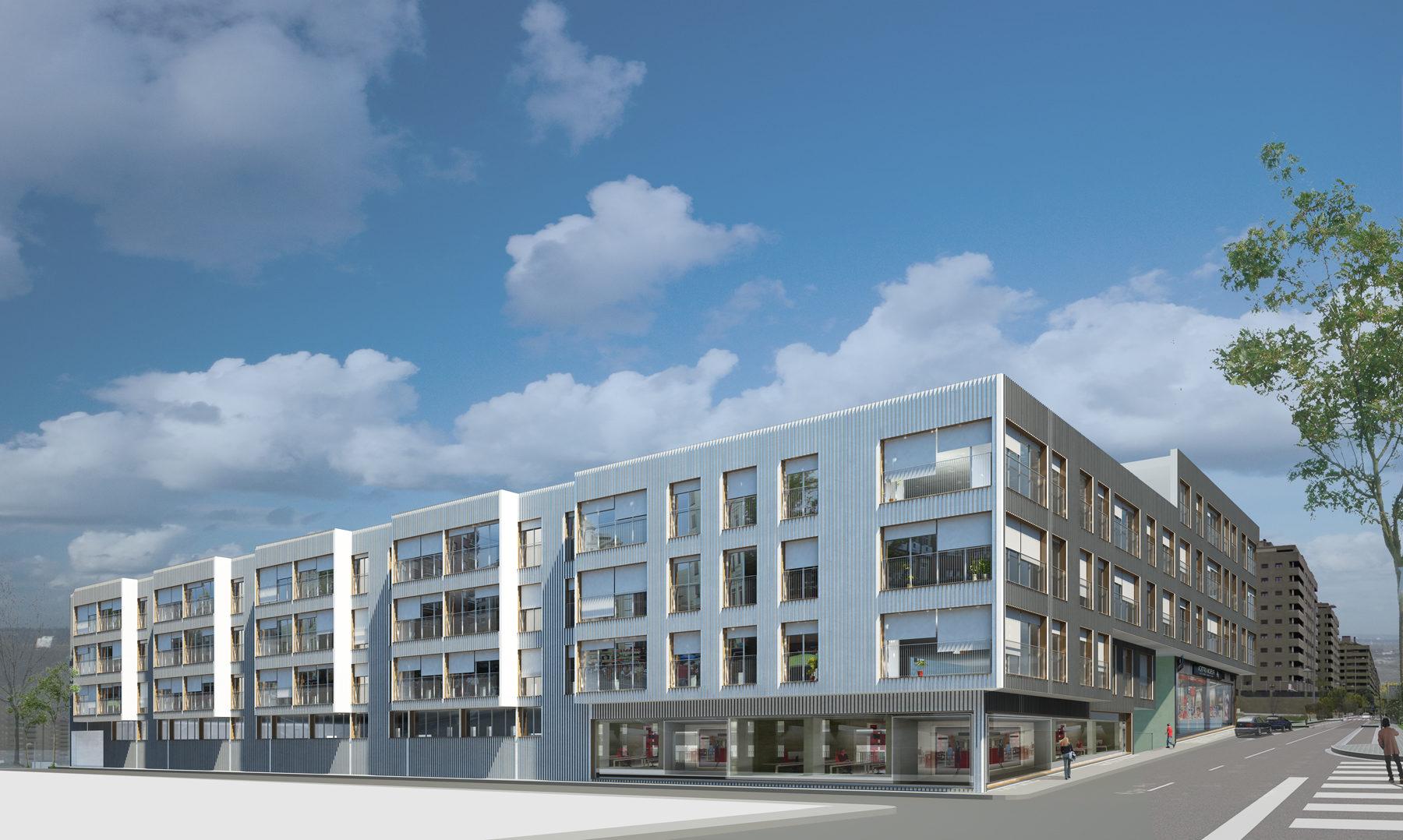 88 viviendas en lorca 88 housing in lorca cor asociados - Arquitectos lorca ...