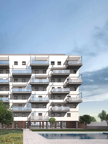 Edificio de 45 viviendas <br> 45 Luxury Apartments