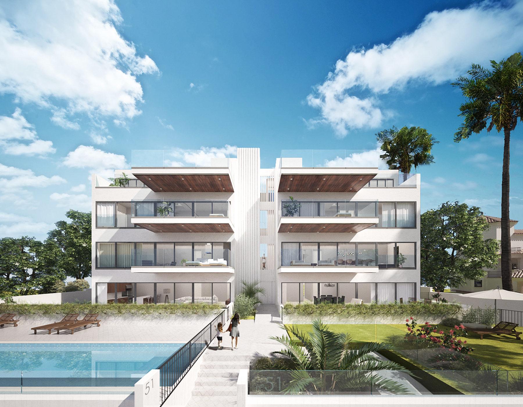 Edificio de viviendas frente al mar en santa pola apartment indico beachfront condominium in - Residencial isla tabarca ...