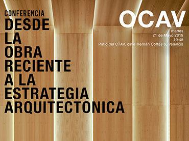 Conferencia 21 de Mayo de 2019 en el CTAV. OCAV