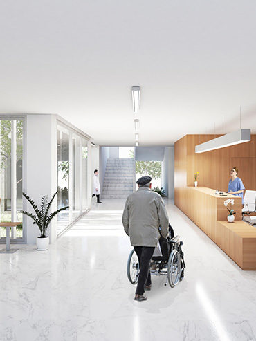 Centro de Salud Garbinet en Alicante <br/>  Garbinet Health Center in Alicante